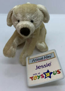 McDonalds Toys R Us Animal Alley Jessie Yellow Lab 2001 With Tags
