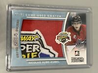 Nicolas Aube-Kubel 2014-15 ITG Heroes & Prospects /20 Subway Super Series Swatch