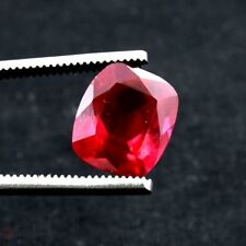 12.00 Ct AAA+ Quality Cushion Faceted mohs9 Pigeon Blood Red Ruby Loose Gemstone