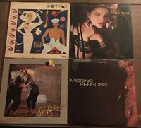 80s Vinyl Lot Motels - Madonna - Thompson Twins - Missing Persons Orig Record