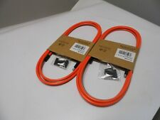 2 x NEW Premier Orange Coloured Bike Gear Cable    PCG2002