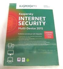 Kaspersky Internet Security Multi-Device 2015 3 dispositivi 1 utente in italiano