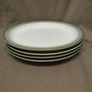 Denby Regency Green Dinner Plates X  4 ( lot 2)