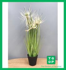 "A0031 21"" Artificial Fake Plant Garden Home Decor Sunny Grass With Plastic Pot"