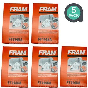 FRAM FT1146A Internal Automatic Transmission Cartridge Filter Kit New (Lot of 5)