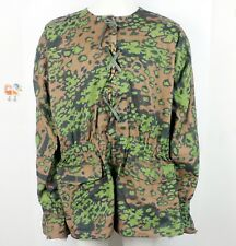 WWII GERMAN M42 CAMO REVERSIBLE COVERALL SMOCK FIELD CLOTHES SIZE XXL-L1099