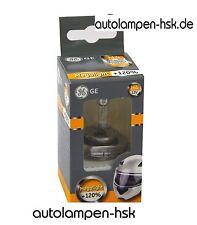 H4 GE MegaLight Ultra +120%  - RÜTTELFEST - speziell für Motorräder -