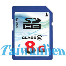OEM 8GB 8G Class 10 SD SDHC Flash Memory Card HD Video
