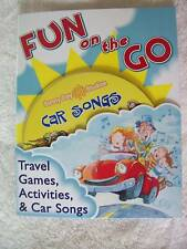 FUN ON THE GO TRAVEL GAMES ACTIVITES & CAR SONGS CD