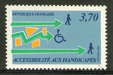 TIMBRE N° 2536 NEUF XX LUXE - ACCESSIBILITE DES HANDICAPES