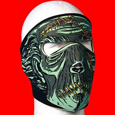 Zombie Neoprene Face Mask  one size fit all