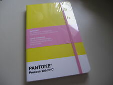 PANTONE PROCESS YELLOW C RULED LARGE NOTEBOOK JOURNAL