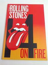 The Rolling Stones 14 on Fire 2014 Tour Program MINT