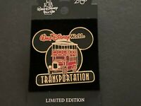 WDW - Transportation Series 2000 - Double Decker Bus Sold Out LE Disney Pin 2466