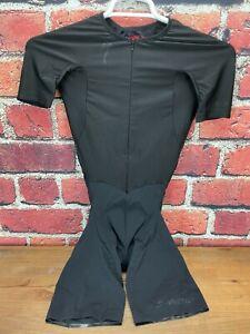 Worn Once! Men's Specialized S-Works Evade TT Skinsuit Black Small