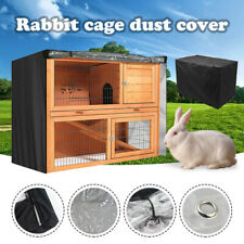 Large Cage Cover 48 inches Double Layer Pet Dog Cat Rabbit Hutch Covers Outdoor