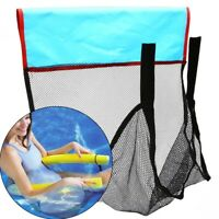 Adult Children Floating Pool Noodle Sling Mesh Chair Swimming Net Seat Floats