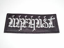 URFAUST ATMOSPHERIC BLACK METAL EMBROIDERED PATCH