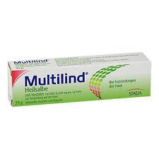 MULTILIND Heilsalbe m.Nystatin u.Zinkoxid 25g PZN 03737422