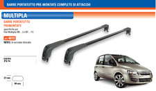 Barre Portatutto Premontate Specifiche Fiat Multipla Nero Acciaio Zincato | 4815