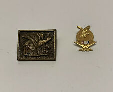 FOE Lapel Pin Fraternal Order of Eagles 25 year Pin Lot 1965-1996 GUC Vintage
