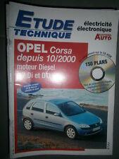 Opel CORSA 1.7 Di - 1.7 DTi : Revue technique Autovolt 789 +CD