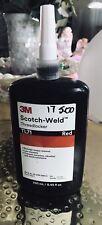 New listing 3M Red Tl71 Locktite ThreadLocker Scotch Weld. 8.45oz / 250 Ml