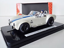 """Slot Scalextric MRRC MC0023 Shelby Cobra 427 S/C """"Road and Track"""""""