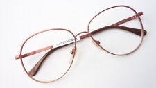 Gestell 70er Jahre Brille Damen braun Vintage Fassung große Tropfenform Gr M