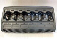 Motorola Impres Multi Unit 6 Bank Charger Wpln4121br For Xts5000 Xts2500 Xts3000