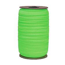 100 Yard Spool - Fold Over Elastic - Neon Green - 5/8in Wide - FOE