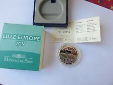 FRANCE - 10 Euro - 2010 LILLE EUROPE TGV TIRAGE  30 000   BE PP PROOF