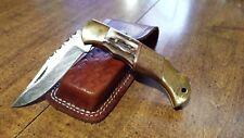 """Damascus Steel Hunting Knife Handmade Folder 7"""" Overall 3.25"""" Blade 1105"""