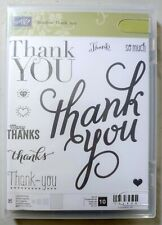 Another Thank You (136835) - Stampin Up! Stamp Set of 10 - Hearts/Thanks/Diamond