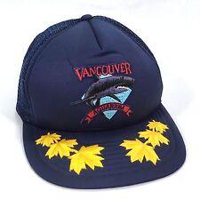 Vancouver Aquarium Snapback Cap British Columbia Canada Mesh Trucker Hat Adj Sz