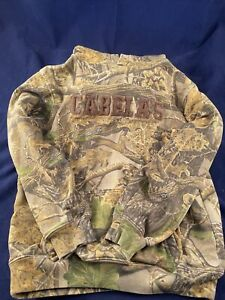 Cabela's Youth XL Seclusion 3D Camo Hooded Pullover Sweatshirt