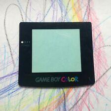 Nintendo Gameboy Color Negro Lentes Pantalla de reemplazo