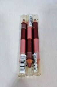 Lot of 3 CoverGirl Multi-Stick Duo Pencil Crayon Heartland For Eyes Lips Cheeks