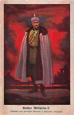 POSTCARD   ROYALTY  GERMANY   KAISER  WILHELM  II