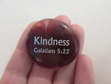 cc Kindness fruit of the spirit GLASS MESSAGE STONE