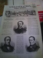 L'illustration n°1102 9 avr 1864 général bossak pologne saigon vernon cham