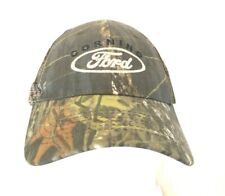 New W/OTag Embroidered  CORNING FORD Camouflage Trucker Hat Cap Fastener back
