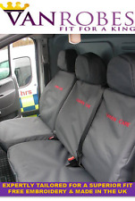 Peugeot Expert Van (2007- 2016). Tailored Seat Covers. With Free Embroidery
