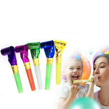 Lots 50Pcs Noise Maker Blowout Whistle Party Birthday Wedding Favour Kids Toy