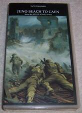 Juno Beach to Caen VHS Video D-Day Normandy WWII