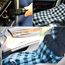 12V Electric Heated Car Blanket Winter Warm Bed Mat Pad Fleece Travel Throw New