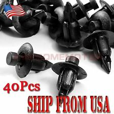 US 40Pcs ATV Fairing Fender Retainer Clips Nylon Fit Suzuki GSXR 600 750 1000 AM
