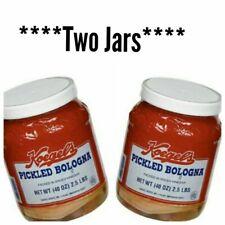 Koegel's Pickled Bologna **2 JAR BUNDLE** Plastic Jars 2.5 Lbs 40 oz
