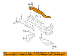 TOYOTA OEM Manifold-Exhaust-Manifold Cover 1716737080