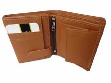 High Quality PU Leather Wallet with card slots for men in brown
